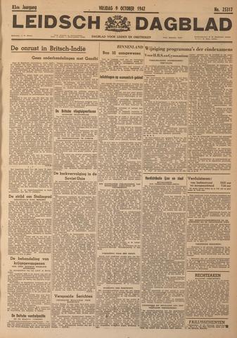 Leidsch Dagblad 1942-10-09