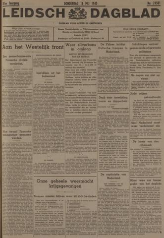 Leidsch Dagblad 1940-05-16