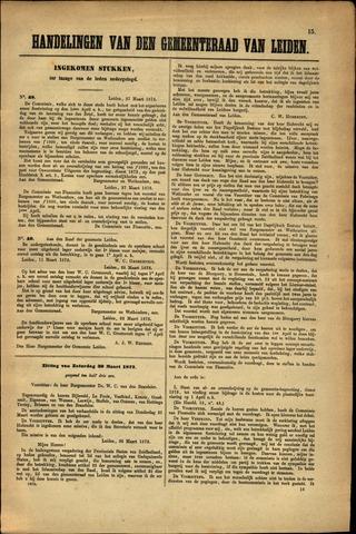 Handelingen van de Raad 1872-03-27