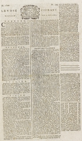 Leydse Courant 1820-10-11