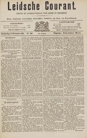 Leydse Courant 1885-12-10