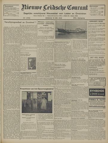 Nieuwe Leidsche Courant 1939-05-16
