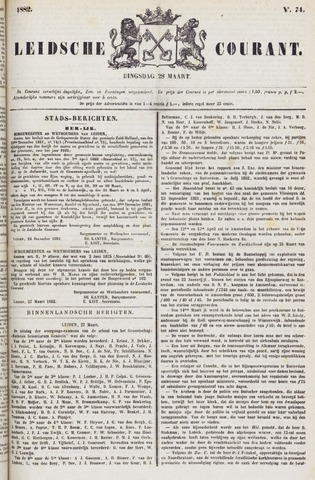 Leydse Courant 1882-03-28