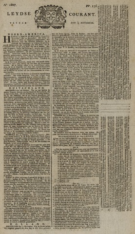 Leydse Courant 1807-11-13