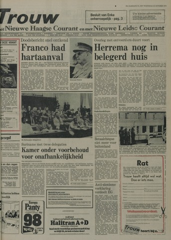 Nieuwe Leidsche Courant 1975-10-22