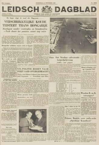 Leidsch Dagblad 1956-11-21