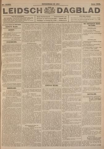 Leidsch Dagblad 1926-07-22