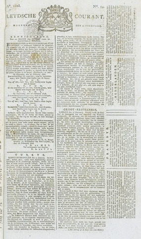 Leydse Courant 1828-02-25