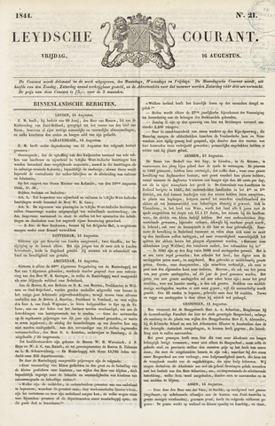 Leydse Courant 1844-08-16