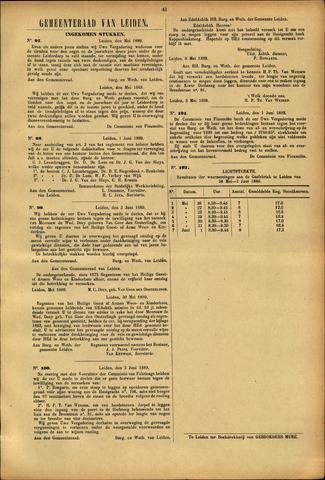 Handelingen van de Raad 1889-06-01