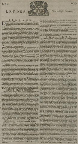 Leydse Courant 1729-10-19