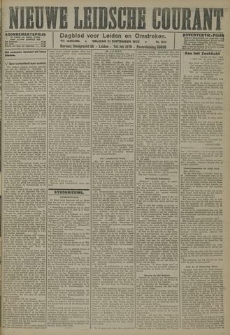 Nieuwe Leidsche Courant 1923-09-21