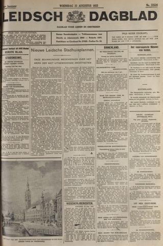 Leidsch Dagblad 1933-08-23