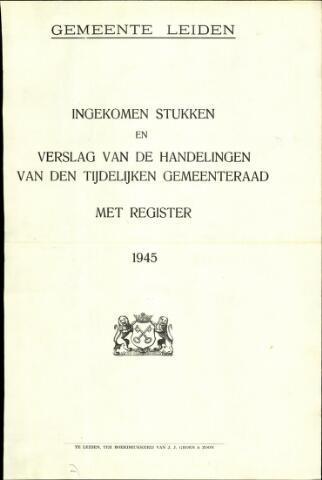 Handelingen van de Raad 1945-01-01