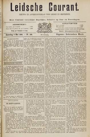 Leydse Courant 1885-05-09