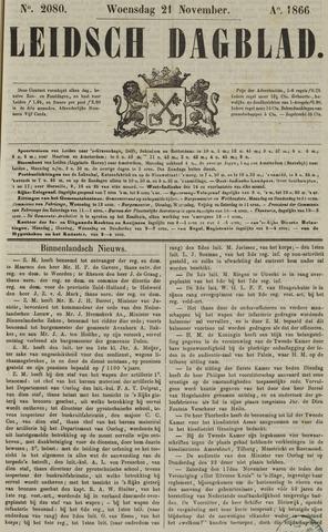Leidsch Dagblad 1866-11-21