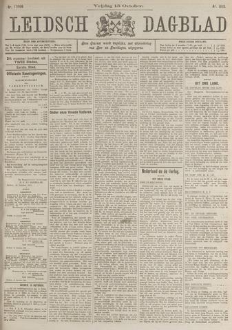 Leidsch Dagblad 1915-10-15