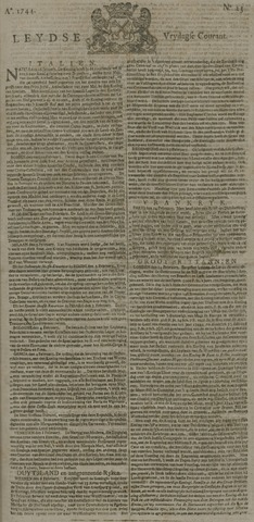 Leydse Courant 1744-02-21