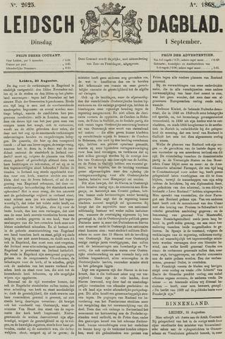 Leidsch Dagblad 1868-09-01