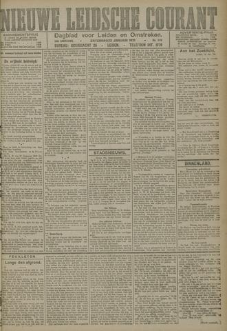 Nieuwe Leidsche Courant 1921-01-22