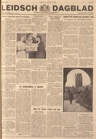 Leidsch Dagblad 1949-08-26