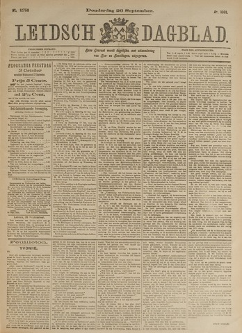 Leidsch Dagblad 1901-09-26