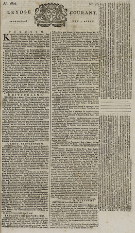 Leydse Courant 1805-04-03