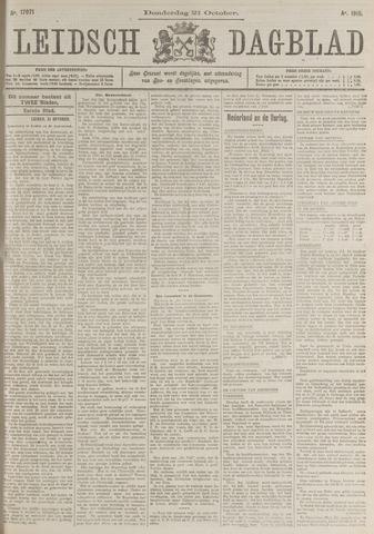 Leidsch Dagblad 1915-10-21