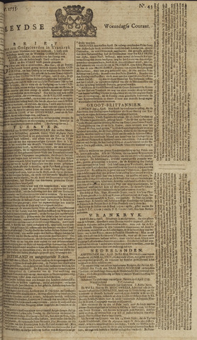 Leydse Courant 1755-04-09