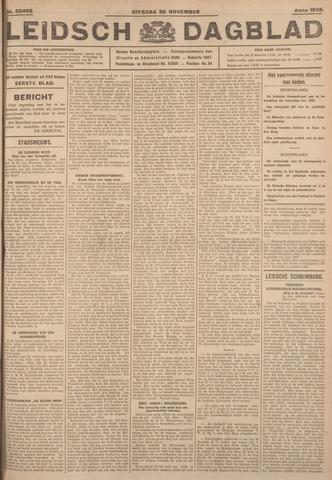 Leidsch Dagblad 1926-11-30