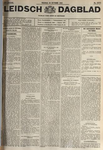 Leidsch Dagblad 1932-10-28