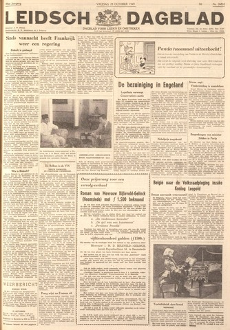 Leidsch Dagblad 1949-10-28