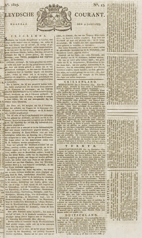 Leydse Courant 1825-01-31