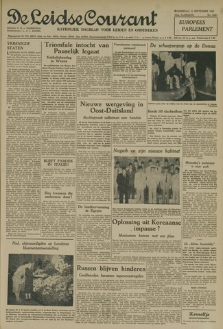 Leidse Courant 1952-09-11