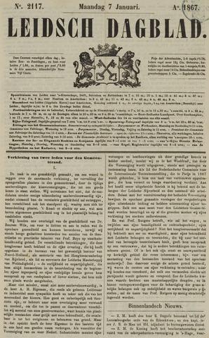 Leidsch Dagblad 1867-01-07