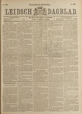 Leidsch Dagblad 1899-08-09