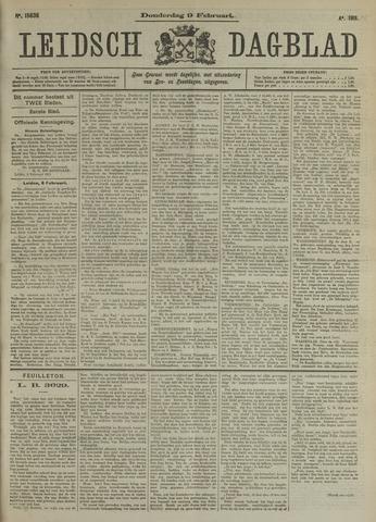 Leidsch Dagblad 1911-02-09