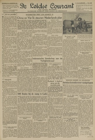 Leidse Courant 1947-08-20