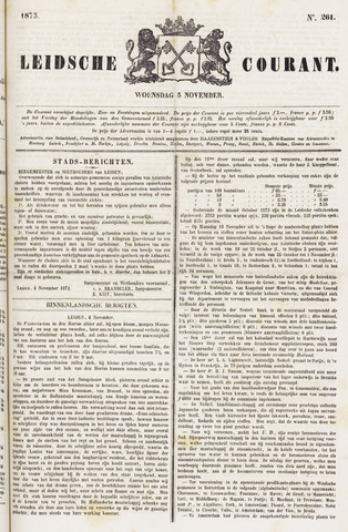 Leydse Courant 1873-11-05
