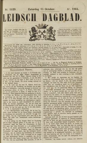 Leidsch Dagblad 1864-10-15
