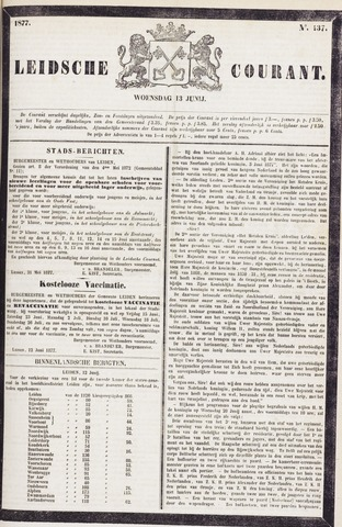 Leydse Courant 1877-06-13