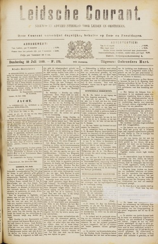 Leydse Courant 1889-07-25