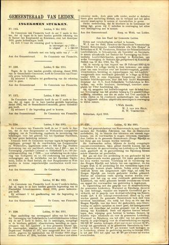Handelingen van de Raad 1911-05-06