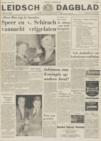 Leidsch Dagblad 1966-10-01