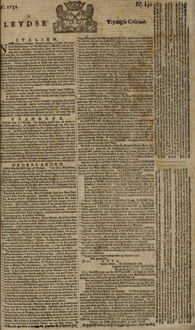 Leydse Courant 1751-10-29