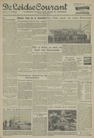 Leidse Courant 1954-07-03