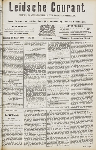 Leydse Courant 1890-03-25