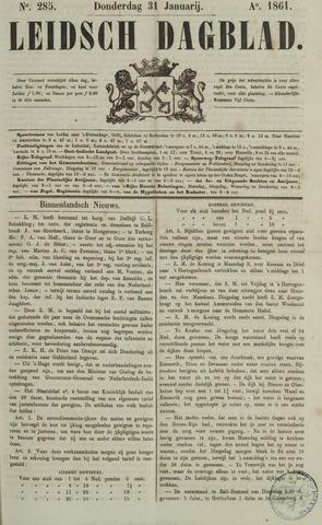 Leidsch Dagblad 1861-01-31