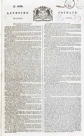 Leydse Courant 1839-04-01