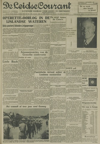 Leidse Courant 1958-09-03